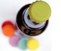 Набор силиконовых крышек для бутылок
