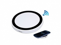 Беcпроводная зарядка Smart (Бело-черная)
