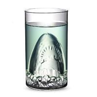Бокал Акула двойное стекло