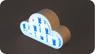 Магнитный держатель для ключей в виде облака