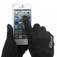 Перчатки для сенсорных устройств Igloves черные