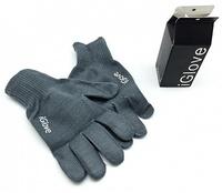 Перчатки Igloves для сенсорных устройств серые